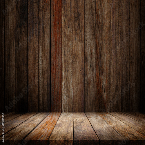 Garden Poster Wood timber wood brown panels used as backgrounds display