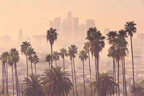 Poster Los Angeles Los Angeles Skyline