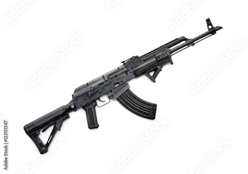 Tactical AK-47 rifle Canvas Print