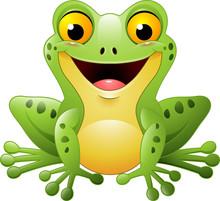 Cartoon Cute Frog