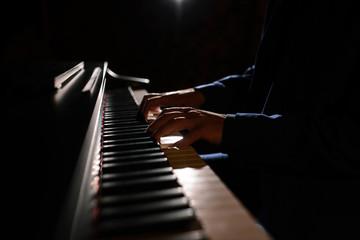 Fototapeta na wymiar The piano