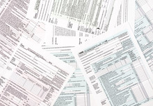 Tax Forms As Background