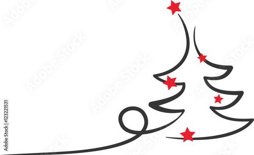Sterne Für Weihnachtsbaum.Weihnachtsbaum Rote Sterne Kaufen Sie Diese Vektorgrafik Und