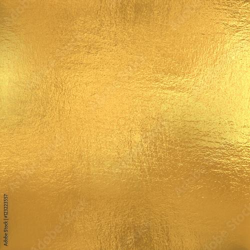 Fotografia  Gold foil