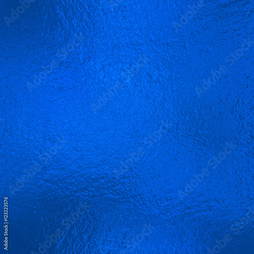 Blue metallic Foil  Wall mural