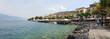 canvas print picture - Torri del Benaco, Gardasee