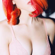 Sensual Lady In Lace Underwear...