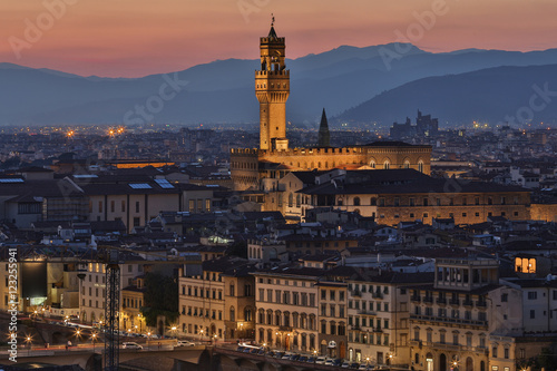 Fotobehang Florence City of Florence - Tuscany - Italy
