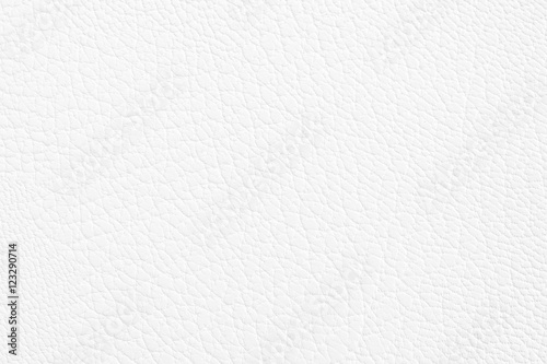 Luxury white leather texture background Fototapet