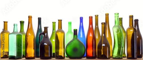 Fotomural antique bottles