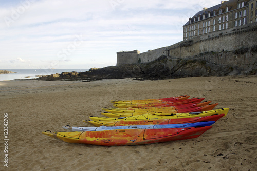 Photo  Kayak de mer