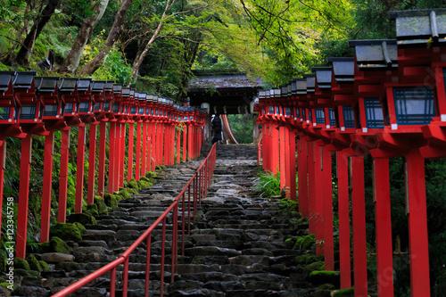 Poster Kyoto 貴船神社