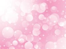 Abstract Pink Circles Design