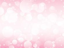 Pink Circles Background