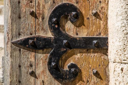 Photo  Cerniera di porta medievale