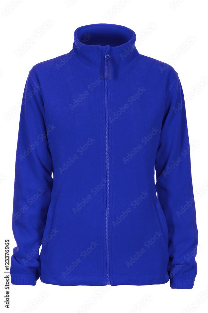Obraz Blue sweatshirt fleece fototapeta, plakat