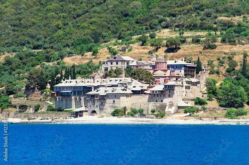 Fotografie, Obraz  Xenofontos Monastery, Athos Peninsula, Mount Athos, Chalkidiki,