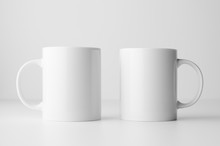 Mug Mock-Up - Two Mugs