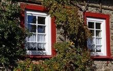 Holzfenster Fassade