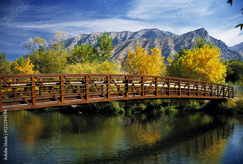 Photo Bridge over Provo River