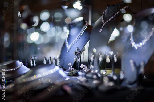 fine jewelry window display