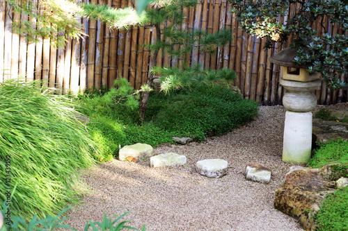 Papiers peints Jardin japanese garden with sand