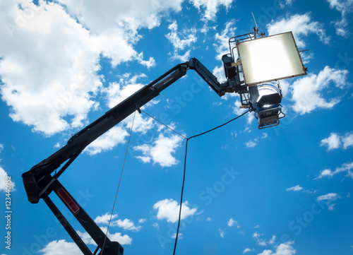 Fotografie, Obraz  HMI daylight projector hanging