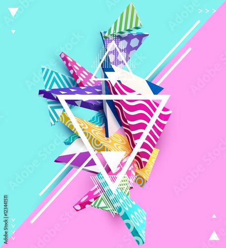 streszczenie-kolorowy-kompozycja-z-elementow-geometrycznych