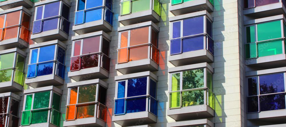 Fototapeta Immobilier / Bilbao (Espagne)