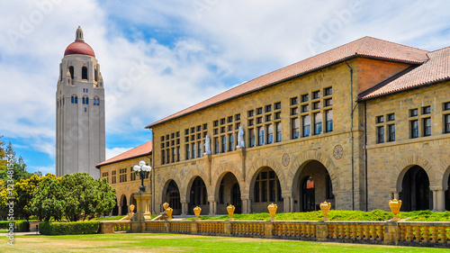 Photo Hoover Tower, Stanford University - Palo Alto, CA