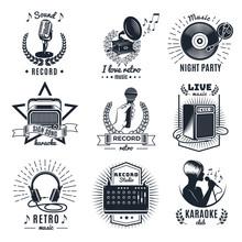 Karaoke Elements Monochrome Vi...