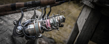 Fishing Reels On Rods