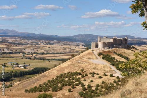 Castle of Jadraque, Guadalajara province, La Mancha, Spain