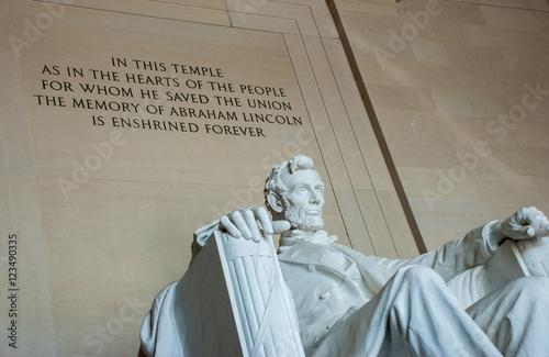 Fotografia  Lincoln Memorial Washington DC