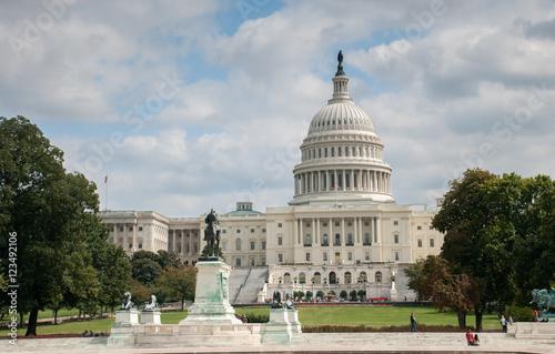 Ingelijste posters Centraal-Amerika Landen US Capitol Building in Washington DC United States