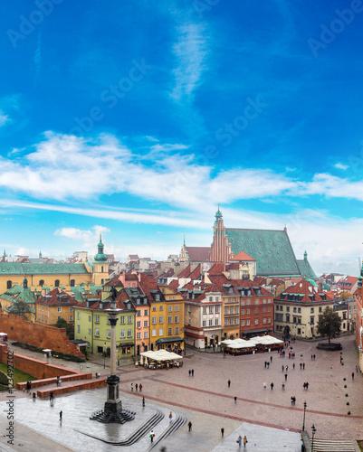 Foto op Plexiglas Historisch geb. Panoramic view of Warsaw