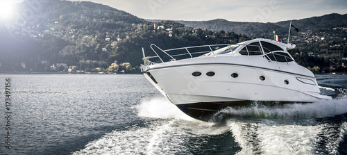Luxury Motor boat