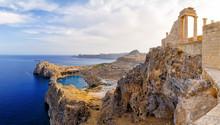 Greece. Rhodes. Acropolis Of L...