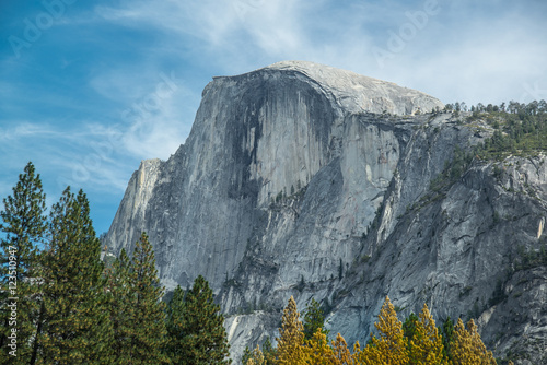 Photo  Half Dome in Autumn, Yosemite