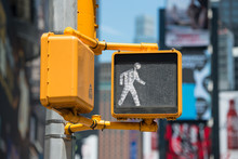 Pedestrian Traffic Walk Light ...