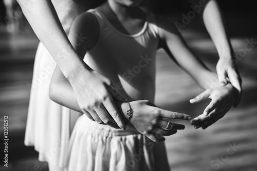Fotografie, Obraz  Young Ballerina Dance Training Performance Concept