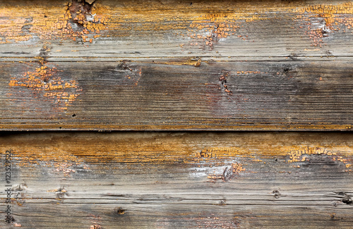 Tuinposter Hout The background of the old painted multicolored boards, horizonta