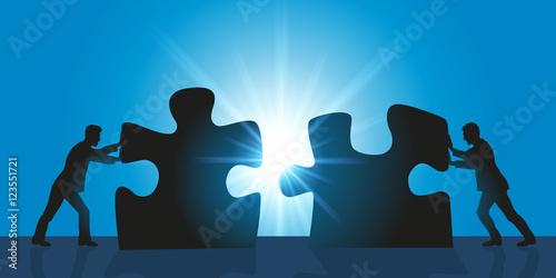 Fotografía  Solution - Partenaire - Puzzle
