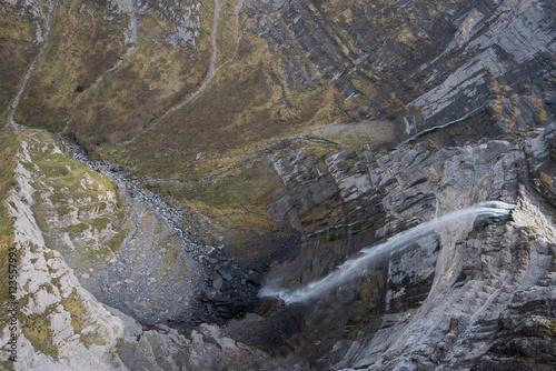 Cañón de Delika y Salto del Nervión, norte de España