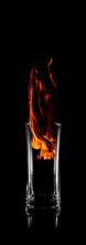 Element Feuer Aus Den Vier Elementen