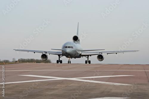 Photo RAF Lockheed L1011 Tristar getting ready for takeoff at Brize Norton air base