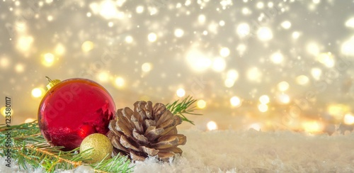 Photo Stands Akt sparkling Lights Christmas Background