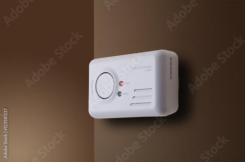 Valokuvatapetti Carbon Monoxide Alarm
