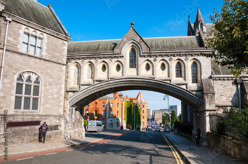 Photo  Christ Church Cathedral in Dublin