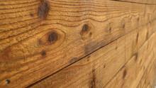 Horizontal Cedar Fence With Kn...